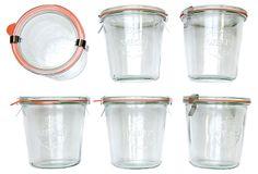 S/6 Weck Jars, 8.5 Oz on OneKingsLane.com