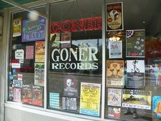 Goner Records--Cooper-Young, Midtown