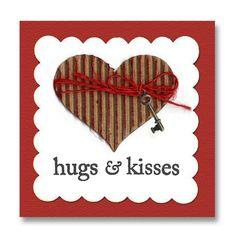 valentin card, craft, hug kiss, valentine day cards, valentine cards, card valentineslov, kiss heart, heart mini, heart cards