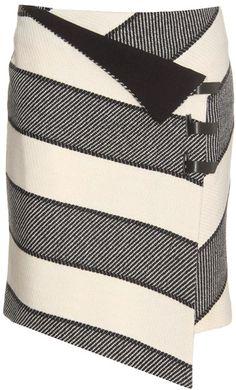 Striped Wrap Skirt ♥