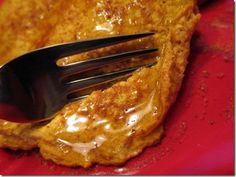 Pumpkin Protein Pancakes for one