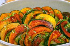 acorn squash, chile lime vinaigrette   She says I must and who am I to argue?