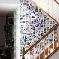 DIY Printstagram photo wall :)