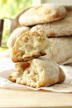 Homemade Ciabatta Bread Rolls   Foodness Gracious