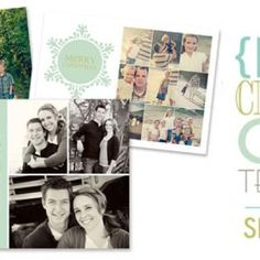 free printable Christmas  card template