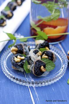 Prunes and Walnuts Wrapped with Lardo di Colonnata | Rowena Dumlao-Giardina @ Apron and Sneakers