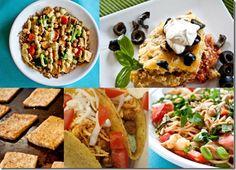 5 versatile vegan recipes that make 25 dinners.