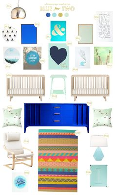 Lay Baby Lay: on BHG today: blue for two