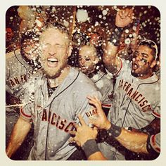 Hunter Pence was the heart and soul of the last 3 days #sfgiants #orangeoctober