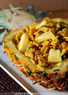 Curried Pineapple Rice - Vegan