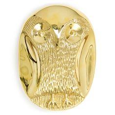 Jonathan Adler Brass Owl Box