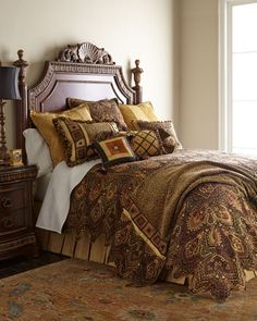 Amina Bedding by Sweet Dreams at Horchow.