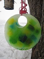 winter crafts ice suncatcher