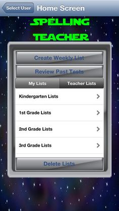 Spelling Teacher School Edition ($9.99) developed to help your student/child become an accomplished speller while meeting language arts common core spelling standards for K-6th grades. Included with the app are 30 weekly spelling lists per K-6 grade, 210 different spelling lists in all. The word lists were developed by teachers using word families, position-based spellings, syllable patterns, ending rules, and other meaningful combinations to assist in the learning.