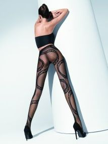 Fishnet tights by Wolford