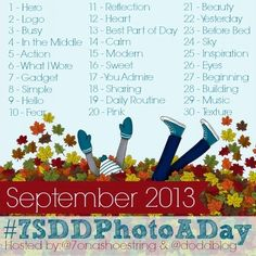 Photo a Day CHallenge: September