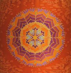 Silk Mandala by Mayra Andrea Kanne