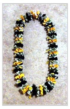 Graduation money lei