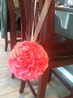 DIY Tutorial: Silk Flower Pomander