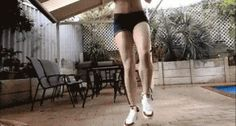 Hot Teen Shuffling To The Project X Theme Song | Gif + Music = Awesome! | Click To Hear The Music That Goes With This Gif.