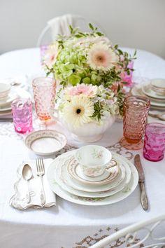 vintage tea party #cup #tea #teatime
