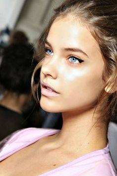 winged eyeliner #beauty