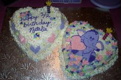 A Heffalump 1/2 Birthday cake I made