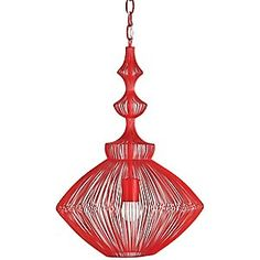 Parker Pendant by Currey and Company. awesome.