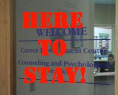 UST Career Center still located at 350 MHC- come see us TODAY!