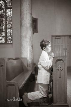 max first communion portraits