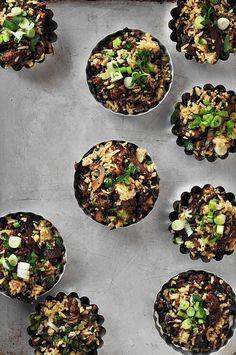 sausag, mushroom wild, thing food, wild rice, healthi food, sticki rice, recip, mi fan