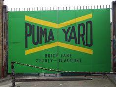 puma yard, breweri brick, brick lane