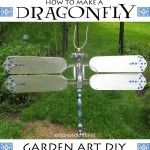 How To Make A Garden Art Dragonfly. As Opposed to Making a Dragon Fly.