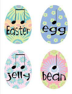 Easter rhythms