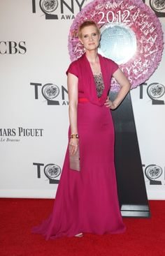Cynthia Nixon at the #TonyAwards