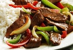 Crock Pot Pepper Steak. Sub the sugar and soy sauce.
