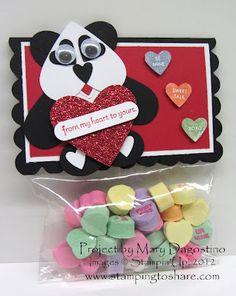 Panda punch art