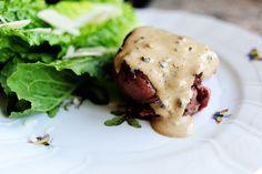 Filet au Poivre - it's what's for dinner.