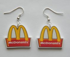 #McDonalds #Earrings