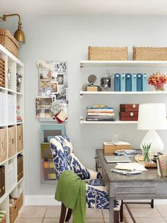 Awesome office space - and wall color