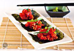 Spicy Tuna Handrolls