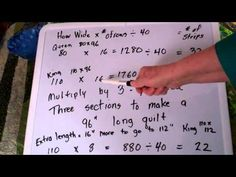 ▶ Queen King Jelly Roll Quilt Part 2 How many strips - YouTube