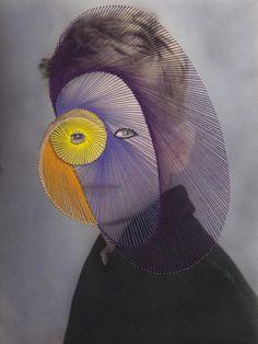 Maurizio Anzeri: Giovanni, 2009 - Photographic print with embroidery