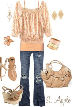 Naturally Sweet, created by sapple324 on Polyvore
