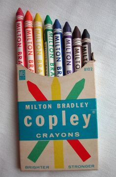 copley crayons