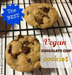 vegan chocolate-chip cookies (really good)