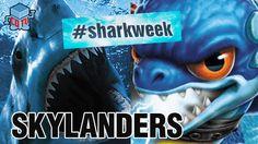 Skylanders SHARK WEEK Zap #skylanders #sharkweek #zap