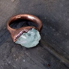 Loving copper right now. Beautiful ring!
