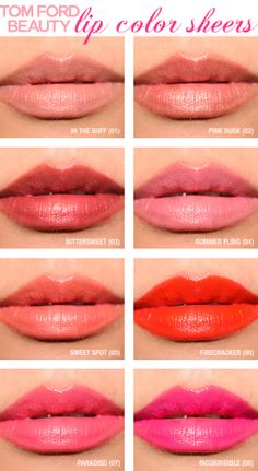 Tom Ford Beauty Lip Color Sheers