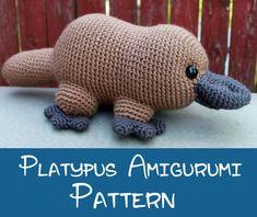 Crochet Pattern: Platypus Amigurumi PDF Instant Download